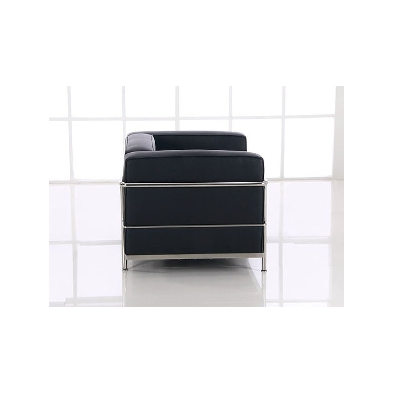 bauhaus ra lc3 sessel ds 31 le corbusier 1928 klassiker. Black Bedroom Furniture Sets. Home Design Ideas