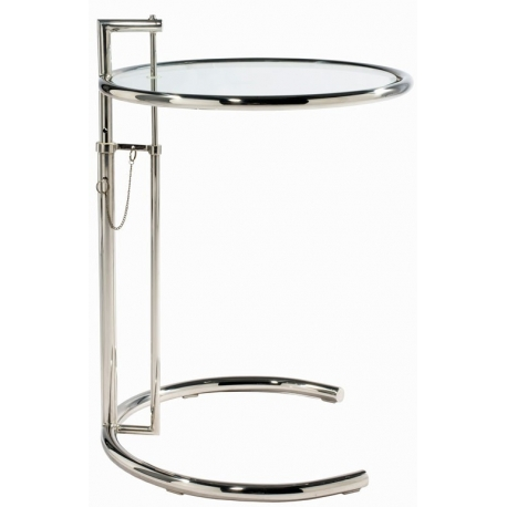Adjustable Cocktail table E 1027 by Eileen Gray 1927