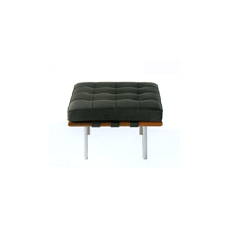bauhaus stool 445 barcelona l mies van der rohe 1930. Black Bedroom Furniture Sets. Home Design Ideas