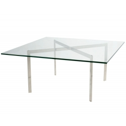 Barcelona table by L. Mies van der Rohe 1922