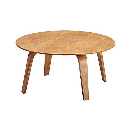 Coffee table 477, Plywood, Charles Eames