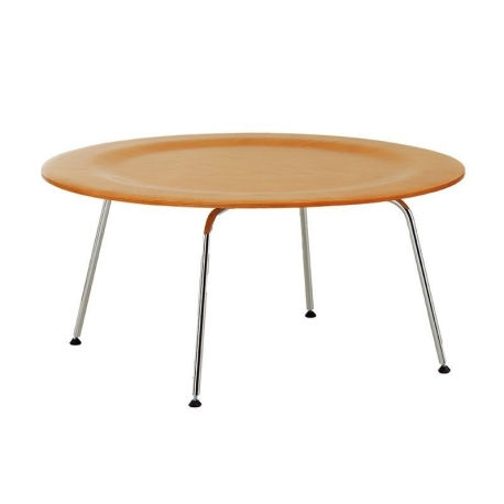 Metal table 479, wooden top by Charles Eames 1945-Bauhaus classic