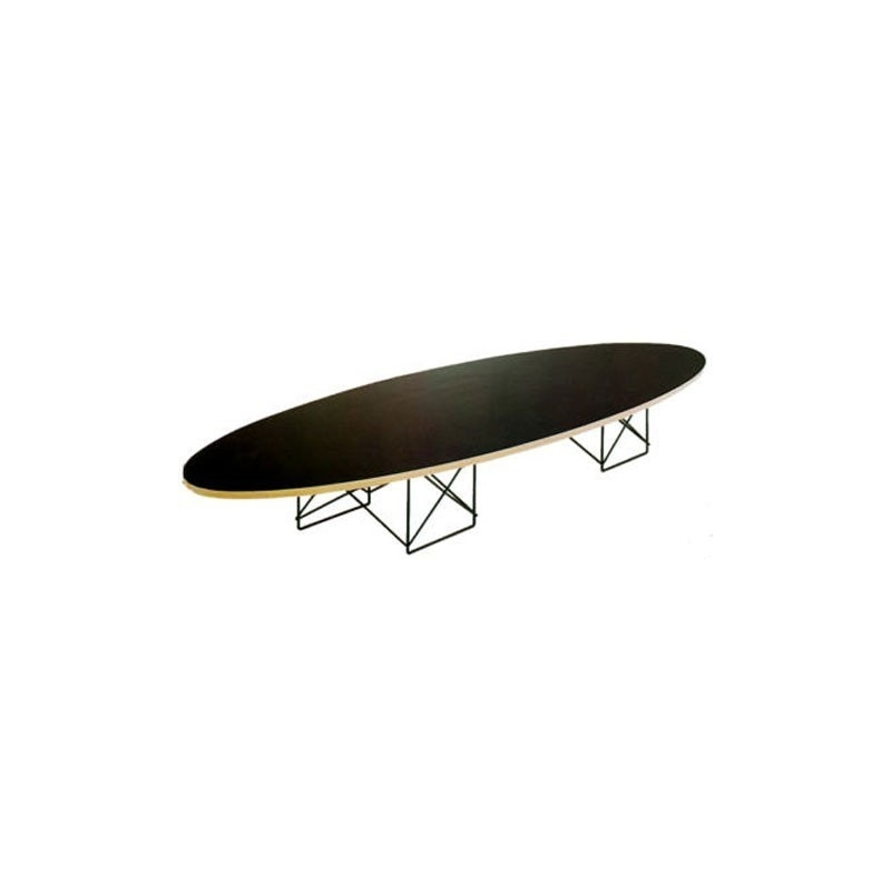 Bauhaus elliptical coffee table 460 charles eames 1950 for Bauhaus eames chair