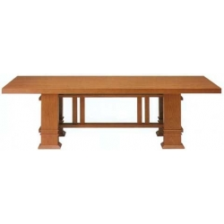 Conference-, dining table Allen by  Bsauhaus designer Frank Lloyd Wright 1917
