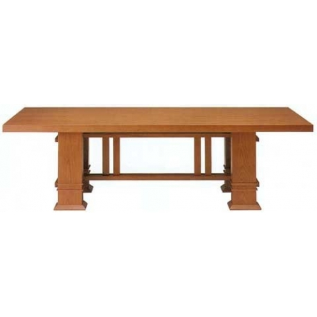 Bauhaus conference-, dining table Allen by Frank Lloyd Wright 1917