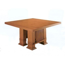 Bauhaus dining table Taliesin T/485 by Frank Lloyd Wright 1917