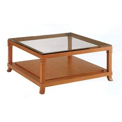 Bauhaus Coffee table glass top, F. L. Wright 1917 - Bauhaus furniture