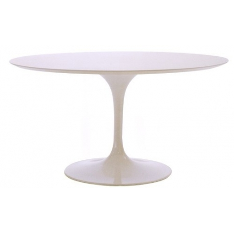 Dining Table Round Eero Saarinen Bauhaus Age - Saarinen table base for sale