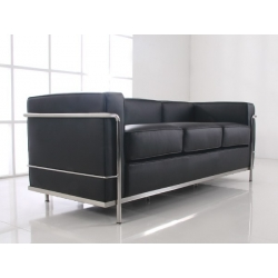 LC 2 Sofa 3-seater by Le Corbusier Bauhaus age