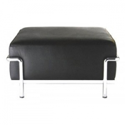 LC2 stool  by Le Corbusier...