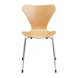 Bauhaus Chair stackable 130 by Arne Jacobsen 1955