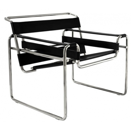 Wassily Stuhl Marcel Breuer 1925 Made In Italy