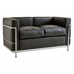 LC2 Sofa-2-seater by Le Corbusier - Bauhaus age